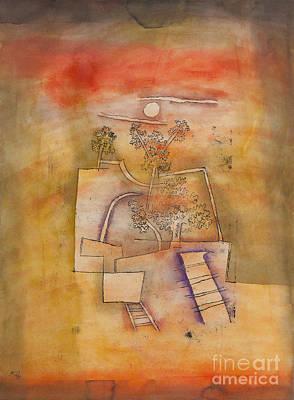Tree Culture By Paul Klee Art Print