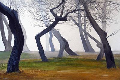 Robert Duvall Painting - Tree Dance by Robert Duvall