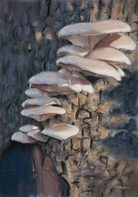 Outdoor Still Life Painting - Tree Ears by Christopher Reid