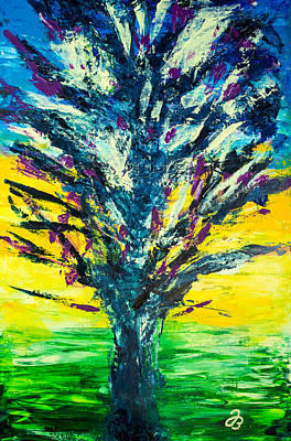 Painting - Tree Explosion by Jutta B