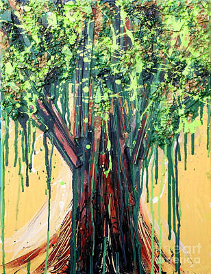 Painting - Tree Grit by Genevieve Esson