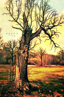 Painting - Tree by Gynt