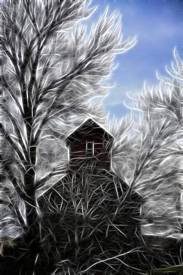 Tree House Art Print by Steve McKinzie