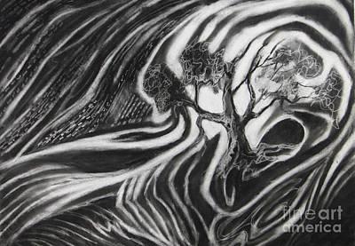 Tree Hunger Art Print