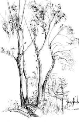 Digital Art - Tree by Khaya Bukula