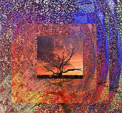 Mixed Media - Tree Layers 2 by Dorothy Berry-Lound