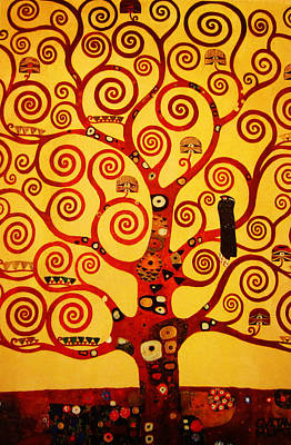 Colors Painting - Tree Life by Celestial Images
