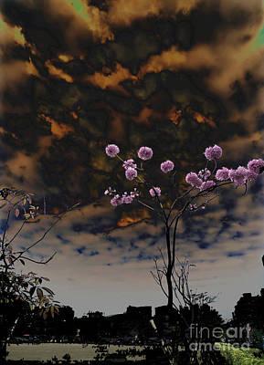 Pyrography - Tree Light by Champion Chiang