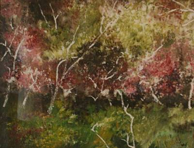 Painting - Tree Light by Marilyn Brown