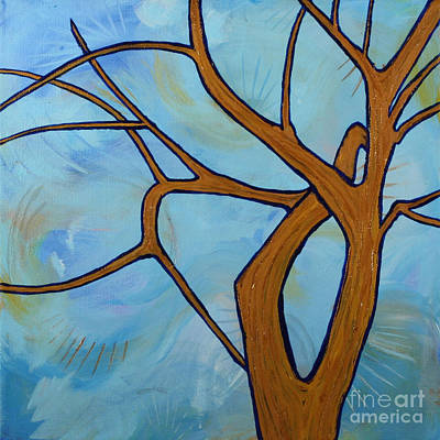 Painting - Tree Limbs In The Afternoon by Julianne Hunter