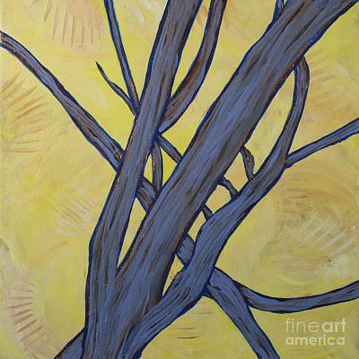 Painting - Tree Limbs In The Early Morning by Julianne Hunter