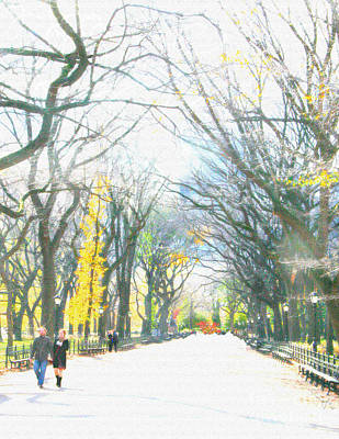 Tree Lovers Lane Art Print