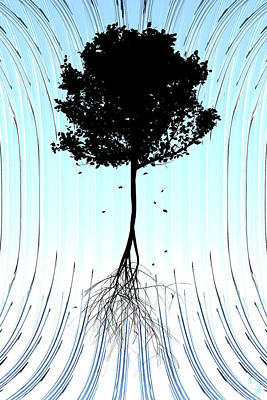 Tree Art Print by Matt Lindley