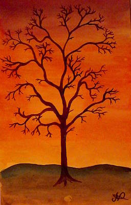 Painting - Tree by Nieve Andrea