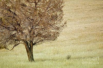 Tree Art Print by Nur Roy
