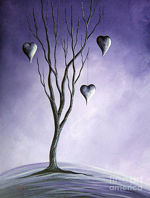 Passionate Painting - Tree Of Everlasting Promises By Shawna Erback by Shawna Erback