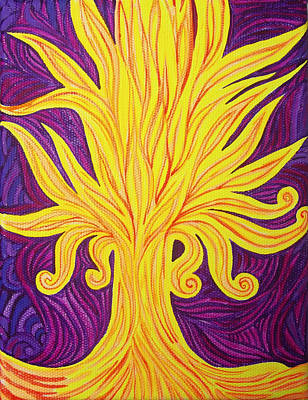 Tree Of Fire Original by Lola Lonli