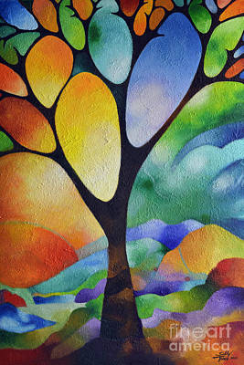 Tree Of Joy Art Print