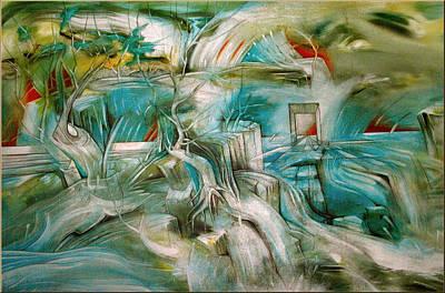Painting - Tree Of Life 2004 by Glenn Bautista