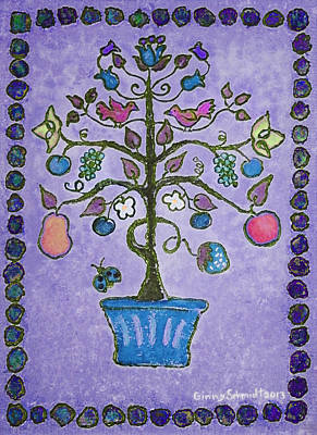 Painting - Tree Of Life 3 by Ginny Schmidt
