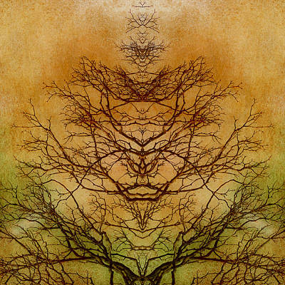 Tree Of Life Abstract Nature Art Print