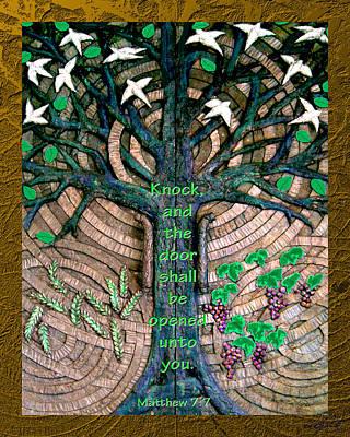 Photograph - Tree Of Life Bronze Chapel Doors by Michele Avanti