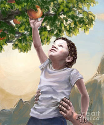 Messianic Painting - Tree Of Life by Tamer and Cindy Elsharouni