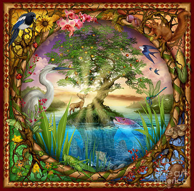 Cards Digital Art - Tree Of Life by Ciro Marchetti