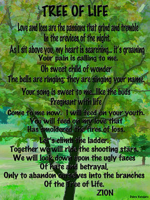 All Occasion Card Mixed Media - Tree Of Life by Debra     Vatalaro