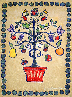 Painting - Tree Of Life by Ginny Schmidt