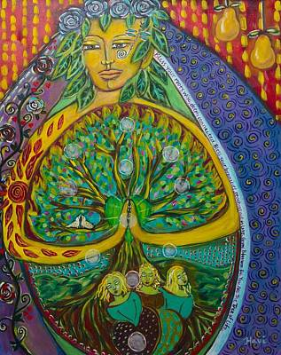Shiloh Sophia Art Painting - Tree Of Life by Havi Mandell