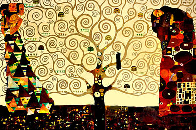 Painting - Tree Of Life by Henryk Gorecki