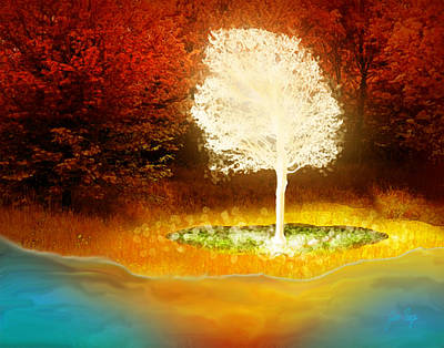 Pages Of Life Digital Art - Tree Of Life by Jennifer Page
