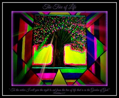 Painting - Tree Of Life by Maryann  DAmico