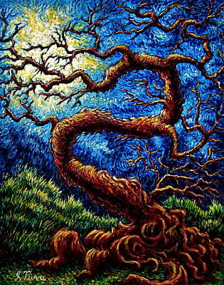 Painting - Tree Of Life by Sebastian Pierre