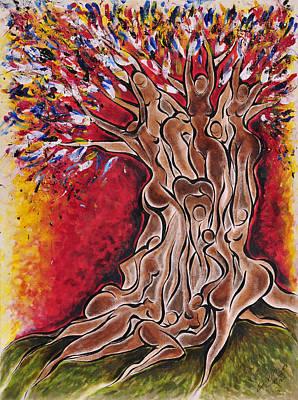 Tree Of Life Art Print by Sherrell Cisco