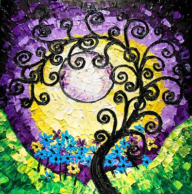 Painting - Tree Of Life by Shirley Smith