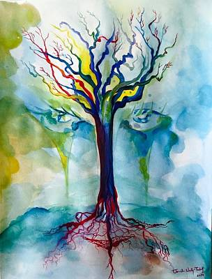 Sacral Painting - Tree Of Life by Tomislav Neely-Turkalj