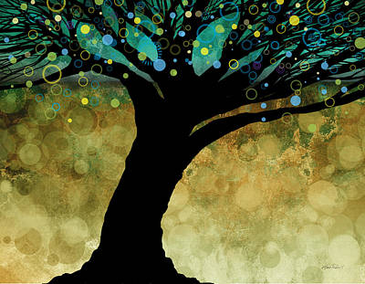Tree Of Life Two  Art Print by Ann Powell
