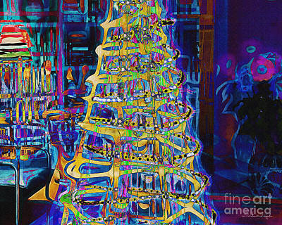 Photograph - Tree Of Light by Edmund Nagele