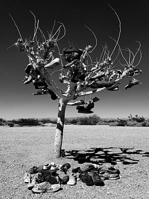 Tree Of Lost Soles 2 Art Print