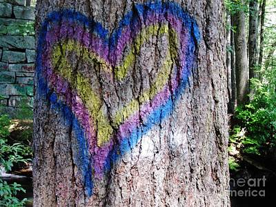 Photograph - Tree Of Love by Barbara Bardzik