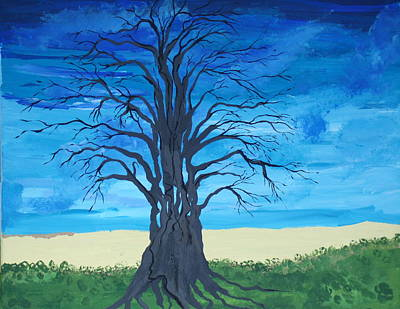 Painting - Tree Of Man by Daniel Nadeau