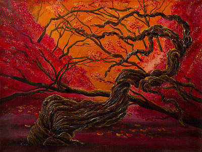 Painting - Tree Of Wisdom by Siyavush Mammadov