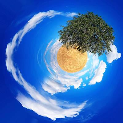 Digital Art - Tree Planet  by Svetoslav Sokolov