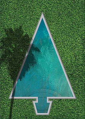 Digital Art - Tree Pool by Stan  Magnan