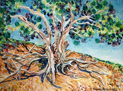 Painting - Tree Roots by Bonnie Follett
