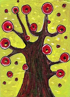 Painting - Tree Sentry by Anastasiya Malakhova