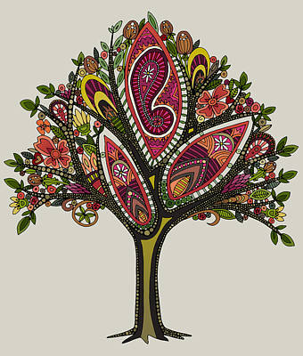 Tre Wall Art - Painting - Tree by MGL Meiklejohn Graphics Licensing