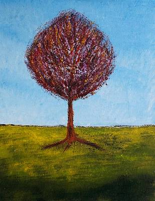 Painting - Tree Solo by Zeke Nord